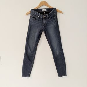 Paige Verdugo Ankle Skinny Blue Jeans